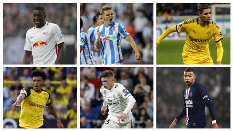 Đội hình U21 xuất sắc nhất châu Âu mùa 2019/20 khiến nhiều người ngỡ ngàng