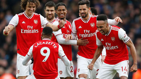 Arsenal không ủng hộ hủy kết quả Premier League 2019/20