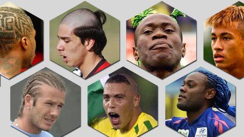 Những kiểu đầu từng khiến sao bóng đá chỉ muốn độn thổ khi nhìn lại