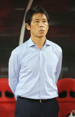 HLV Nishino và các cầu thủ Thái Lan đang toàn tâm hướng về vòng loại World Cup 2022Ảnh: Đức Cường