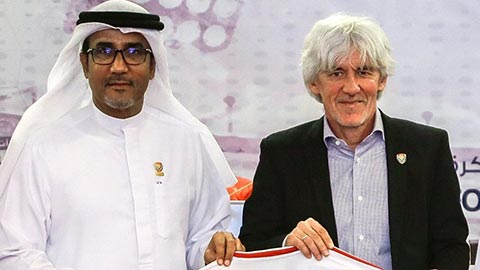 Chưa dẫn dắt trận nào, HLV của UAE vẫn bị sa thải