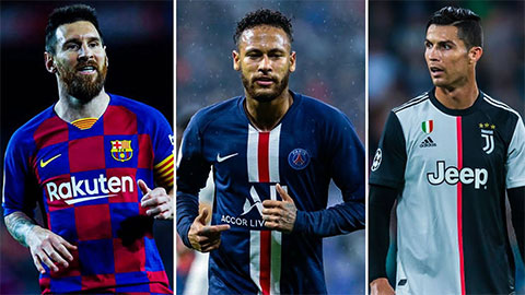 Pele ''trắng'' chê Neymar thua xa Messi và Ronaldo