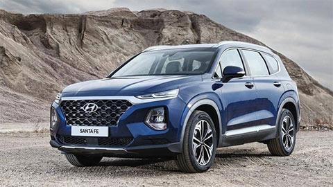 Hyundai Santa Fe giảm giá sốc, quyết đấu Toyota Fortuner, Ford Everest