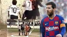 Từ năm 12 tuổi, Messi đã cho thấy khả năng thiên tài