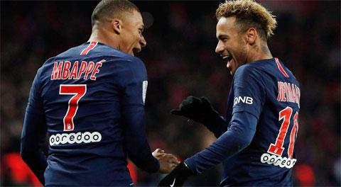 Nếu ký hợp đồng mới mức lương của Mbappe sẽ ngang bằng Neymar với 700.000 euro/tuần