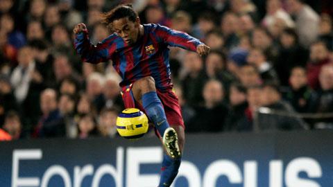 Ronaldinho: Ảo thuật gia duy nhất