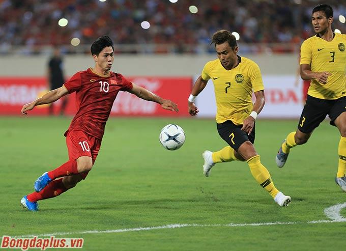 Malaysia là đối thủ của Việt Nam trong cuộc cạnh tranh ngôi vô địch AFF Cup 2020, nếu không có Thái Lan - Ảnh: Đức Cường