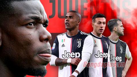 Juve bán 3 ngôi sao để dồn tiền mua Pogba