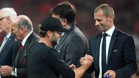 Tin giờ chót 7/4: Chủ tịch UEFA ủng hộ Liverpool vô địch nếu mùa giải không trở lại