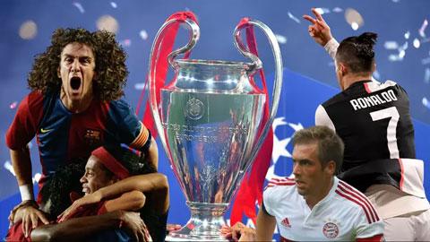 Đội hình vĩ đại nhất lịch sử Champions League chỉ có đúng 1 người Anh