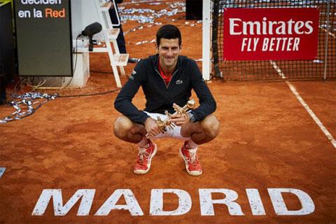 Djokovic là đương kim vô địch Madrid Open