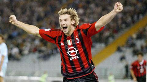 Andriy Shevchenko: Chú linh dương Đông Âu đại náo Serie A
