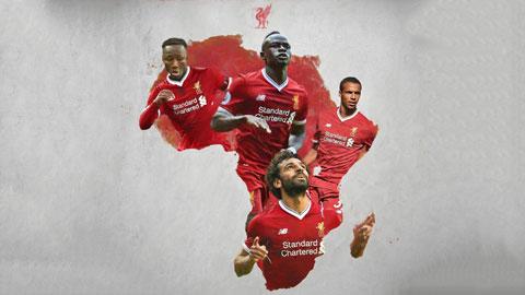 Liverpool thống trị đội hình cầu thủ châu Phi đắt giá nhất hiện nay