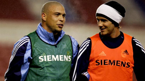 Đội bóng của Beckham và Ro 'béo' sẽ đá giao hữu với nhau