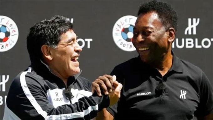 Maradona chê Pele lạc hậu
