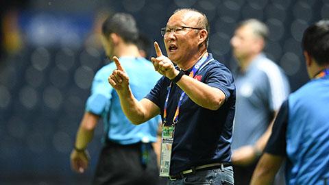 Thầy Park thêm đất diễn cho tiền vệ trung tâm