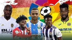 """5 cầu thủ châu Phi """"làm mưa làm gió"""" ở La Liga"""