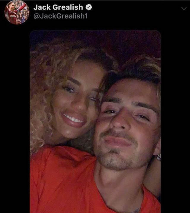 Jena và Grealish chỉ là bạn?