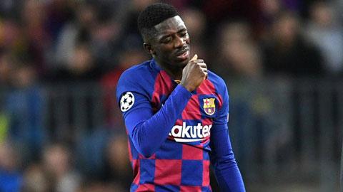 Juve và Inter cùng muốn giải cứu Ousmane Dembele
