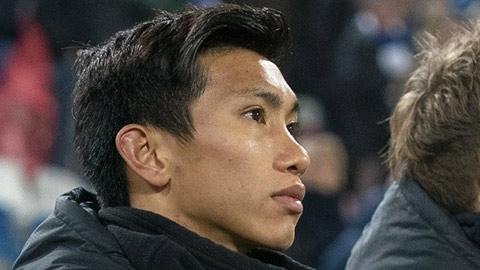 Heerenveen có ý định thử sức Văn Hậu ở vị trí trung vệ