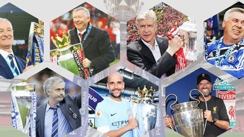 Top 10 HLV xuất sắc nhất Premier League