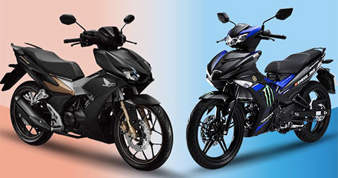 Yamaha Exciter và Honda Winner X đang cạnh tranh rất khốc liệt tại thị trường Việt Nam