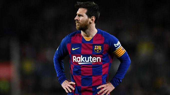 Lionel Messi (Barcelona): Giá hiện tại 112 triệu euro, giảm 28 triệu euro (20%)