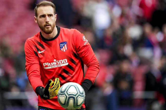 Jan Oblak (Atletico Madrid): Giá hiện tại 80 triệu euro, giảm 20 triệu euro (20%)