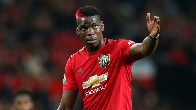 Paul Pogba (Man United): Giá hiện tại 80 triệu euro, giảm 20 triệu euro (20%)