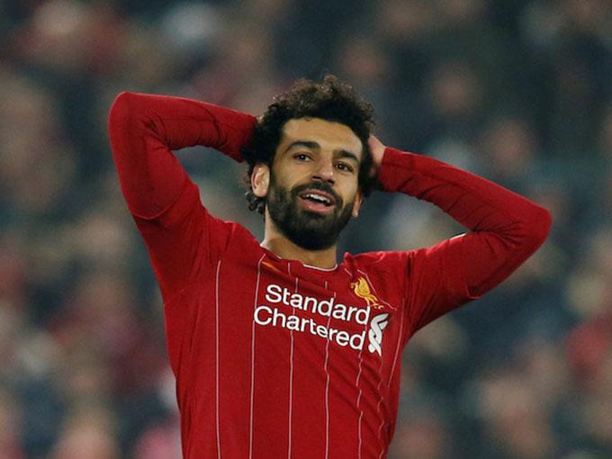 Mohamed Salah (Liverpool): Giá hiện tại 120 triệu euro, giảm 30 triệu euro (20%)