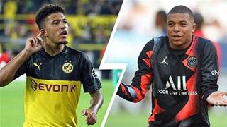 Đội hình U23 đắt giá nhất thế giới: Gọi tên Sancho, Mbappe, De Ligt và De Jong