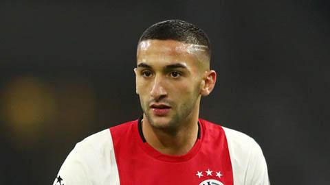 Chelsea bối rối về tân binh Hakim Ziyech