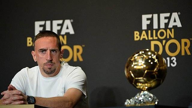 Ribery xứng đáng có 1 Quả bóng Vàng trong đời
