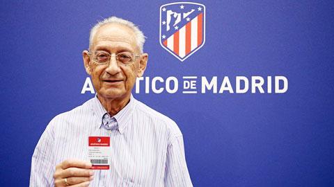 Fan Atletico nhận giải thưởng Cầu thủ xuất sắc nhất tháng 3