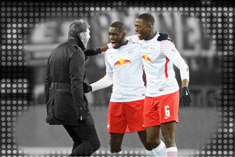 Zagadou hay Upamecano (giữa), Konate… đều là những tài năng trẻ người Pháp đang chơi nổi bật ở Bundesliga