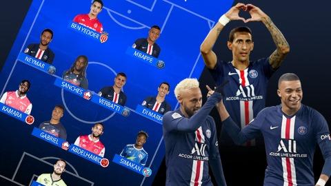 L'Equipe bầu chọn đội hình tiêu biểu mùa giải