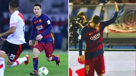 Messi từng xin lỗi sau khi ghi bàn