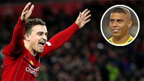 Sốc với 'tình yêu lớn lao' Shaqiri dành cho Ronaldo