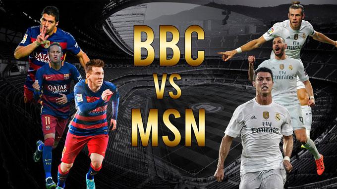 Những cuộc đối đầu giữa MSN và BBC từng thu hút cả thế giới