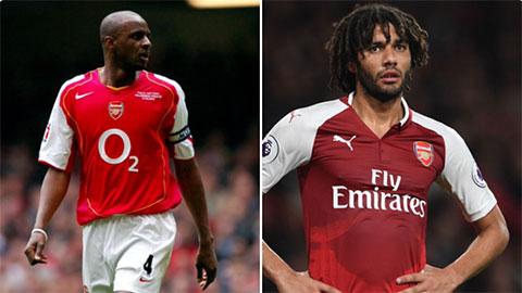 Arsenal bị người cũ chê đang bỏ phí tiền vệ cực giống Patrick Vieira