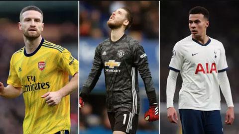 25 cầu thủ Premier League bị mất giá nhất mùa này