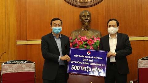 VFF góp 500 triệu đồng ủng hộ phong trào chống dịch Covi-19