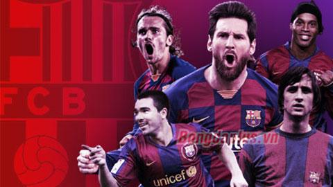 Barca chuộng cầu thủ đến từ quốc gia nào nhất?