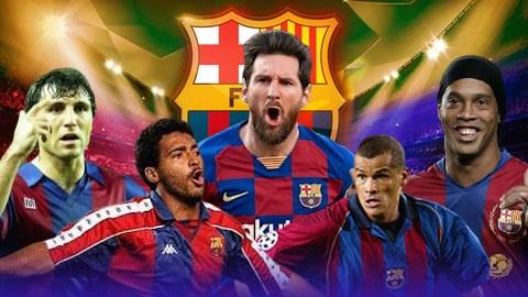 Messi, Ronaldinho, Maradona & những số 10 huyền thoại trong lịch sử Barca