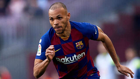 Braithwaite tự nhận chạy nhanh hơn Messi, mong làm huyền thoại Barca