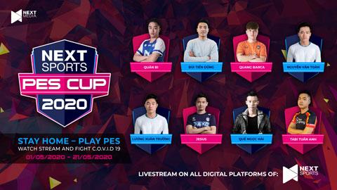 Next Sports PES Cup 2020: Xuân Trường, Quế Ngọc Hải đại chiến cao thủ PES Việt