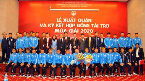 Phố Hiến giảm lương các thành viên đội bóng