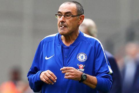 HLV Sarri thời còn làm việc tại Chelsea
