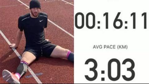 Sao Chelsea lập kỷ lục chạy 5km trong thời gian không tưởng