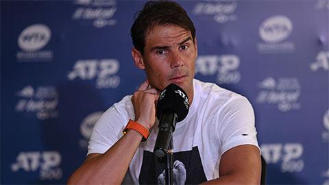 Nadal tập trung vào chống dịch Covid-19, không muốn nói đến tennis